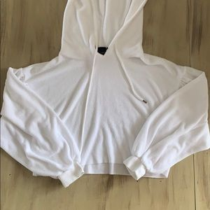 urban outfitters white hoodie